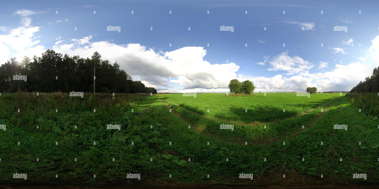 Le champ d'Telezi Photo Stock