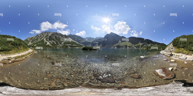 Gasienicowy Lac noir Photo Stock