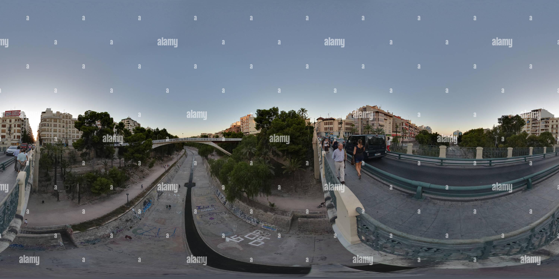 Pont de Canalejas, Elche Photo Stock