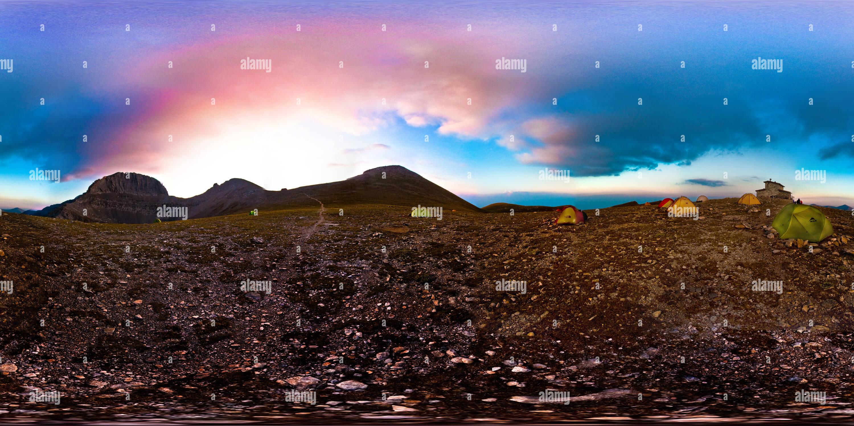 Mountain Olympus - Muses plateau (alt. 2648 m) - Grèce Photo Stock