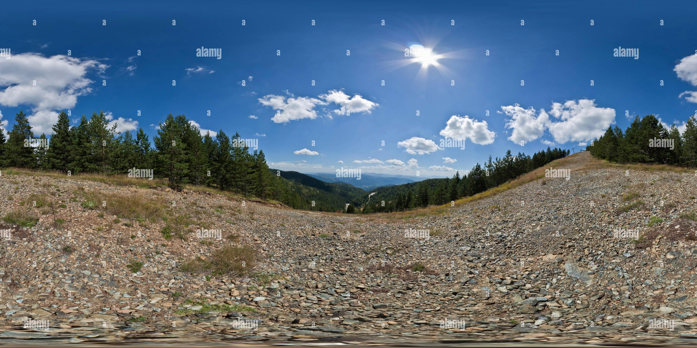Na Iveru staza Ski Photo Stock