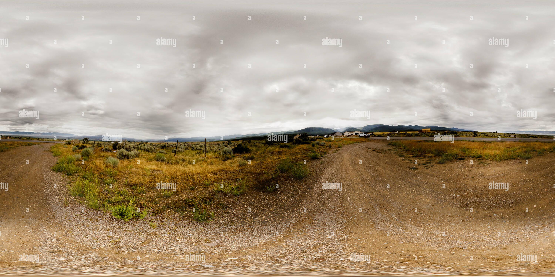 Avis de Sanpete Vallée près d'Éphraïm, Utah USA Photo Stock