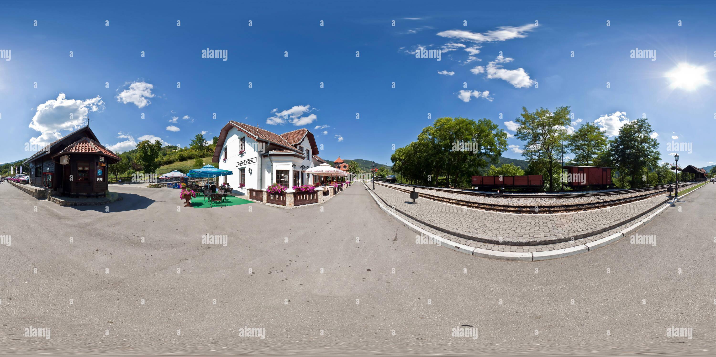 Gare Mokra Gora Photo Stock