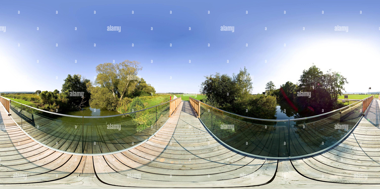 Border-Bridge Photo Stock