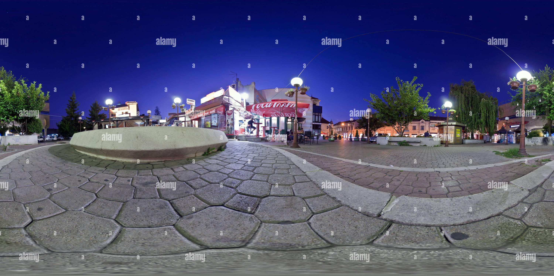 Zemunska, Noć Ligne ulica Photo Stock