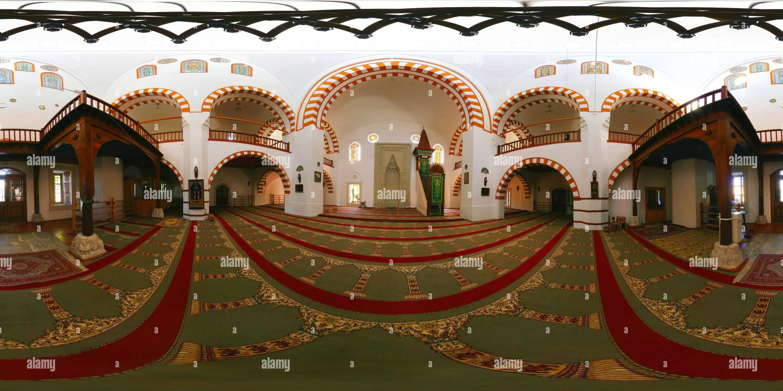 Мечеть Джами Джума-Хан-изнутри Photo Stock