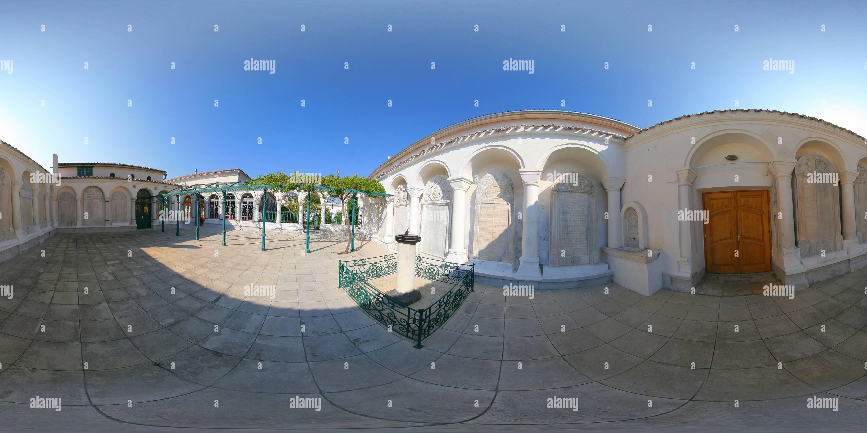 Один из Караимских двориков Photo Stock