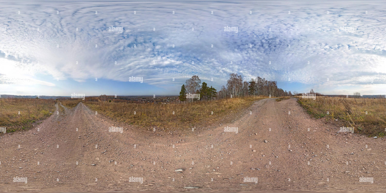 L'automne de Sibérie, octobre 2011 Photo Stock
