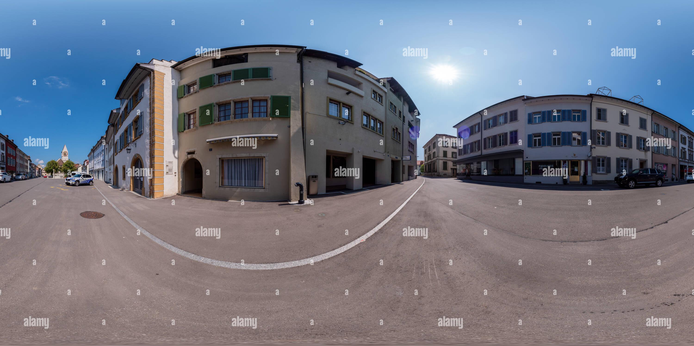 Ville historique de Klingnau Photo Stock