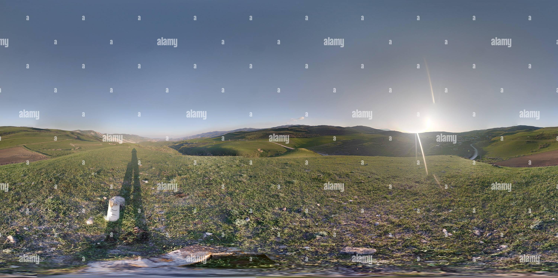 Vue de ville Khizi Photo Stock