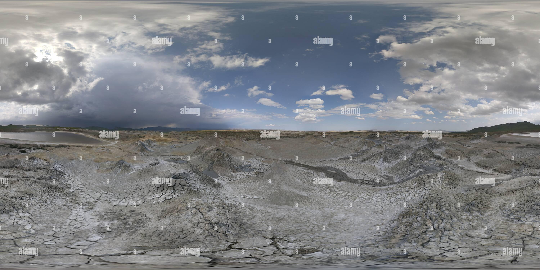 Galandarakhtarma Volcan de boue Photo Stock