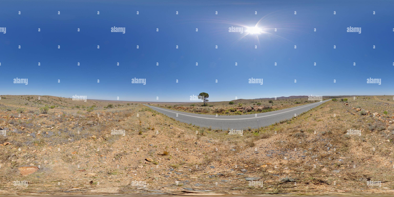 Vue de Mundi Mundi Lookout près de Silverton Photo Stock