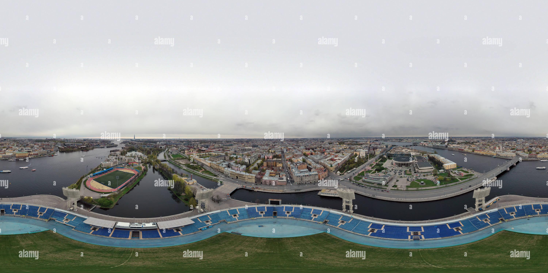 Saint-pétersbourg, Petrovsky Stadium Photo Stock