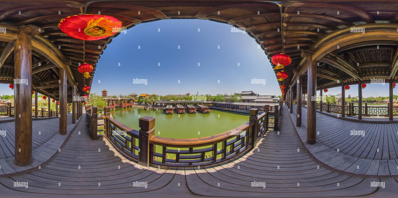 Galerie photos des ponts dans le style de la dynastie Song Photo Stock