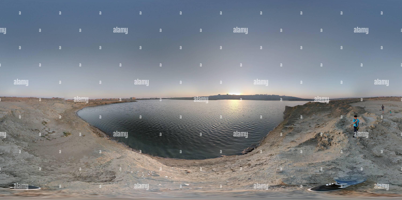 Zigh (Hovsan) Lake Photo Stock