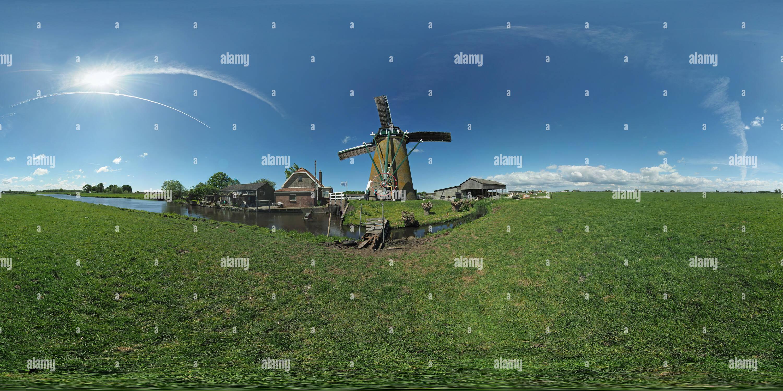 Zwanburger molen, Warmond (3) Photo Stock