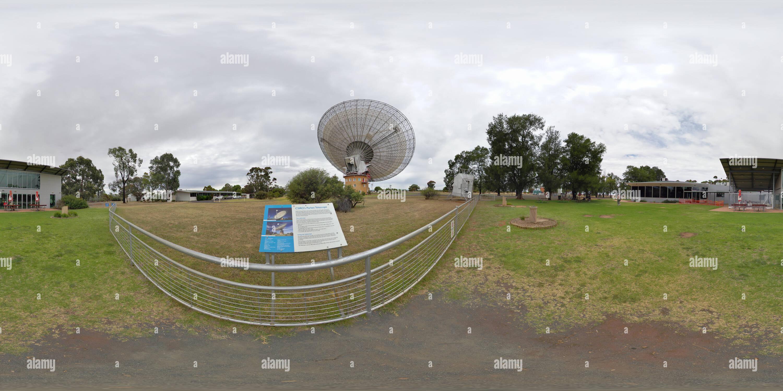 Près de radiotélescope Parkes Photo Stock
