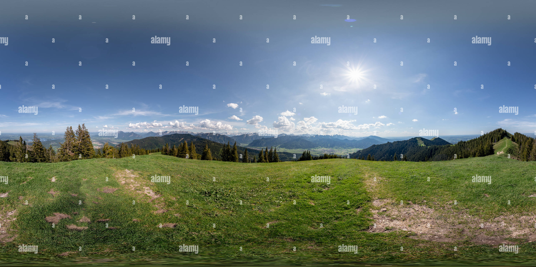Région Zugspitze Mountain View Photo Stock