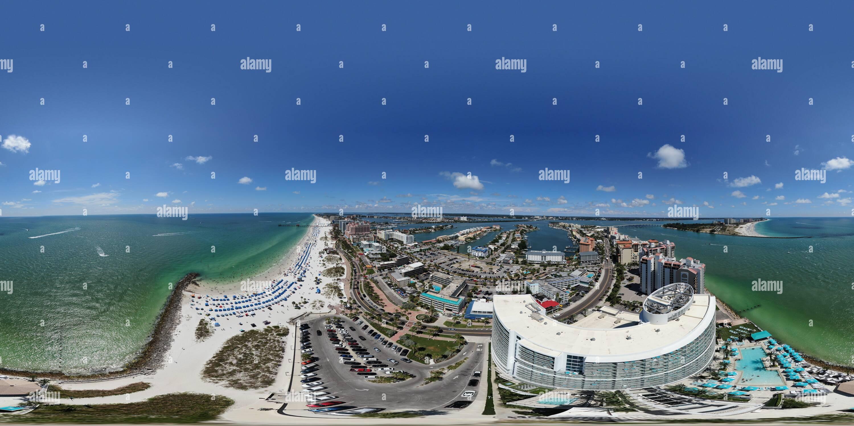 La plage de Clearwater. Tampa. La Floride. Photo Stock