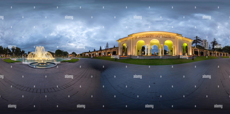 Visualizzazione panoramica a 360 gradi di Circuito Mágico del Agua, Parque de la Reserva