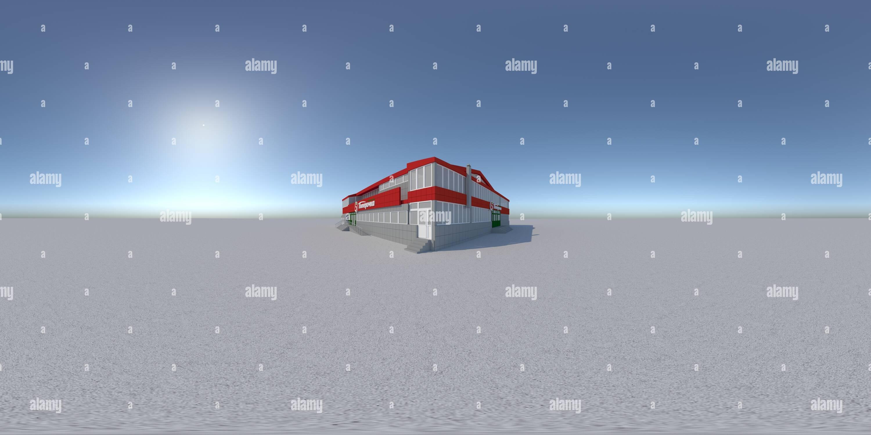 Visualizzazione panoramica a 360 gradi di 11