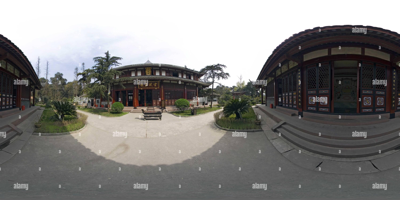 Goral palace - due immortale stile cinese padiglioni Immagini Stock
