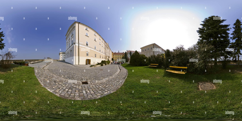 Arciabbazia di Pannonhalma benedettina scuola di grammatica Immagini Stock