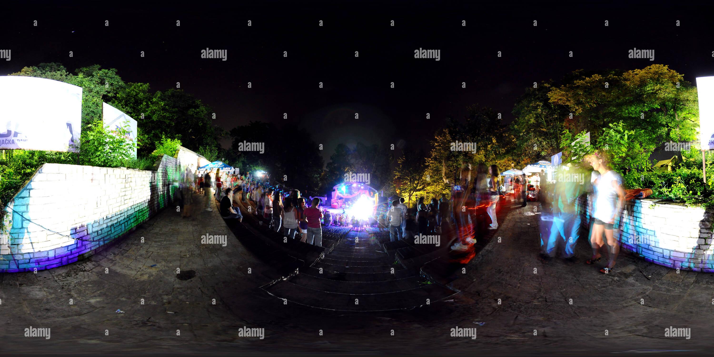 L'amore Festival, Vrnjci Spa, Serbia Immagini Stock