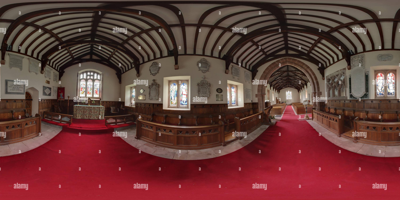 Chiesa Muncaster Immagini Stock