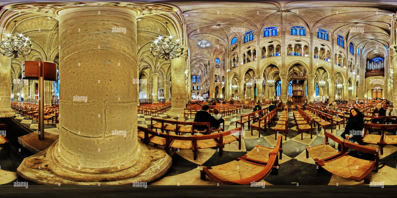 La cattedrale di Notre Dame. Immagini Stock