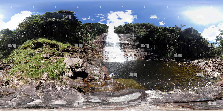 Toron caduta, Gran Sabana Canaima National Park (Venezuela)(1) Immagini Stock