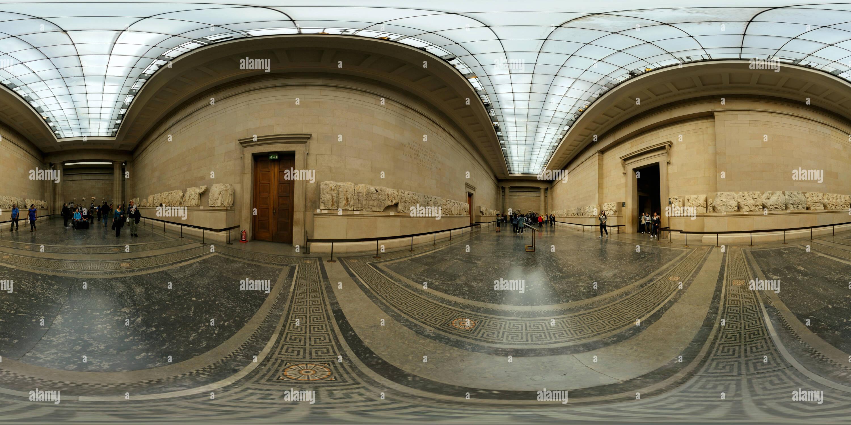 Parthenon marmi, British museum Immagini Stock