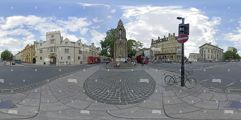 Oxford, martire's Memorial Immagini Stock