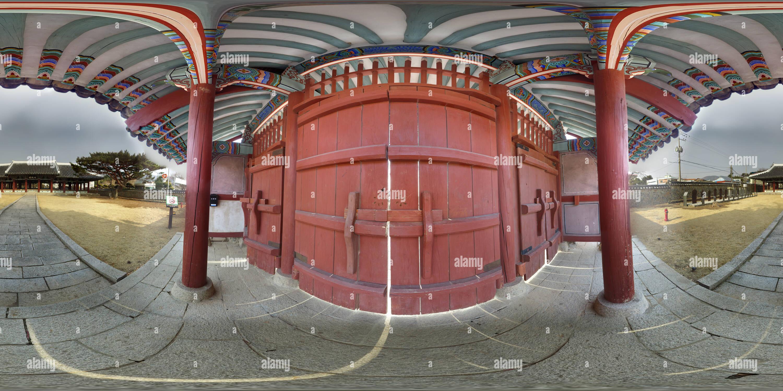 Gate di kisungkwan Immagini Stock