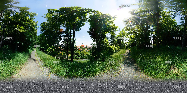 Vista dal 'Mühlbühl-montagna' Immagini Stock