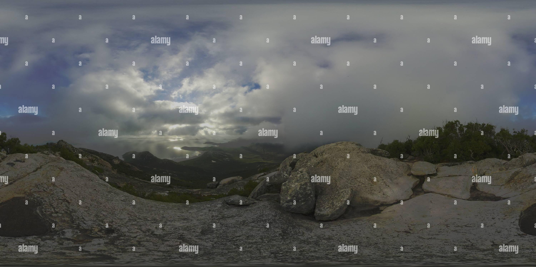 Vista dal Monte Oberon Immagini Stock