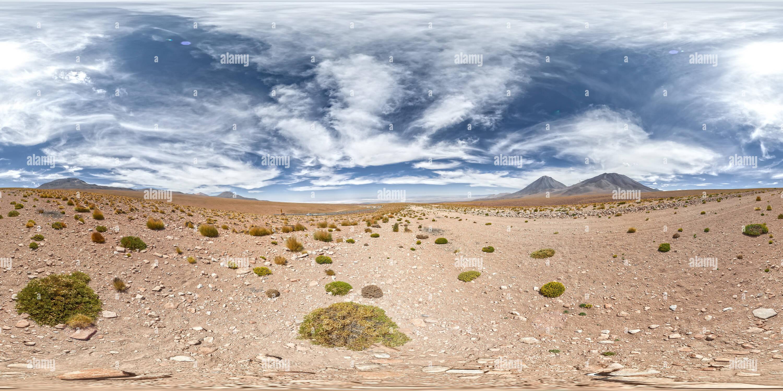 Vulcano Licancabur, Atacama, Cile Immagini Stock