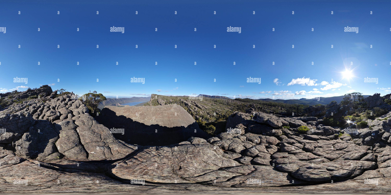 Viste da Pinnacle nel Parco Nazionale di Grampians Immagini Stock