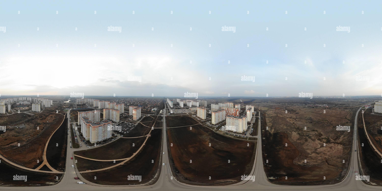 Panorama Suvorovskiy Immagini Stock