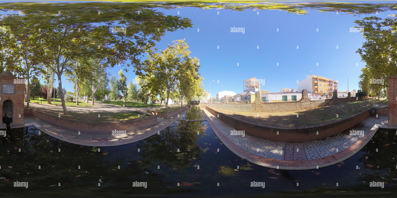 Parco di Las Mercedes Immagini Stock