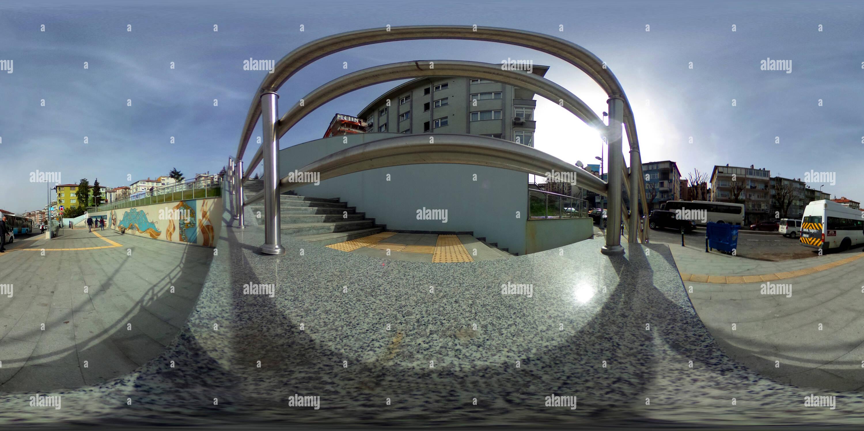 Fistikagaci stazione della metropolitana , Uskudar - 1 Immagini Stock