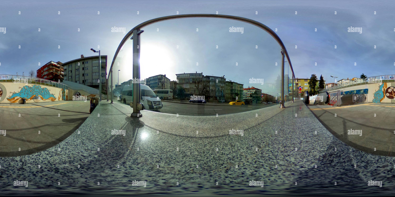 Fistikagaci stazione della metropolitana , Uskudar - 2 Immagini Stock