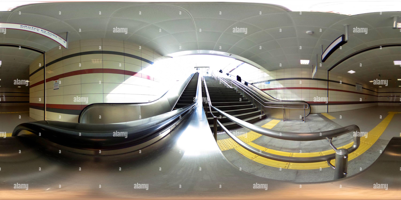 Fistikagaci stazione della metropolitana , Uskudar - 3 Immagini Stock